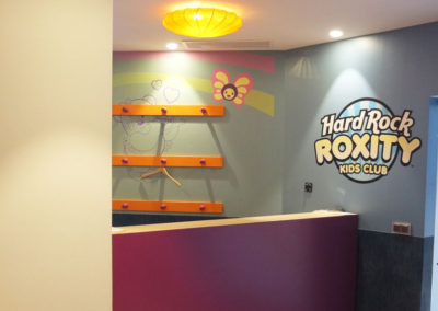 Hard Rock children area